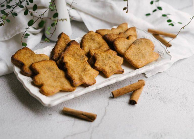 Sviestiniai sausainiai su cinamonu