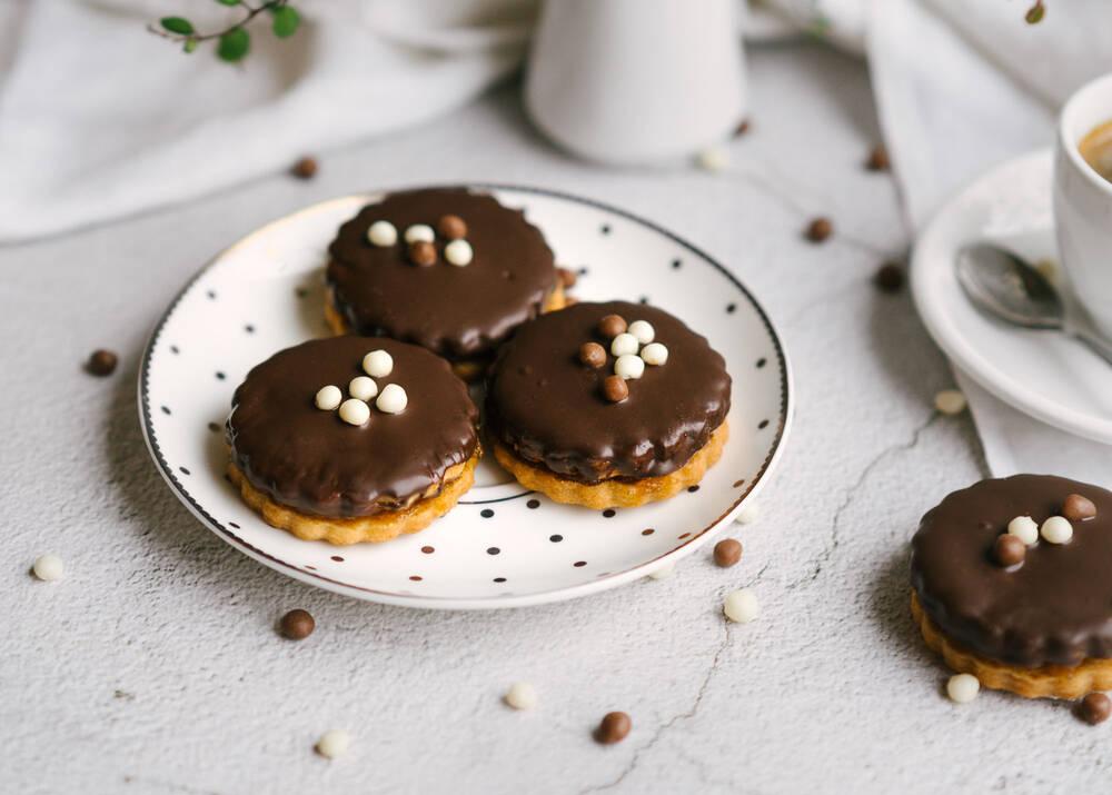"""Sviestiniai sausainiai """"Šokoladainiai"""""""