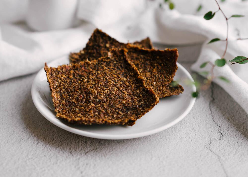 Žaliavalgiška duonelė